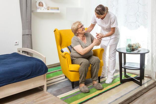 Zdjęcie Szukasz domu opieki  dla seniora?<br/> Dobrze trafiłeś!